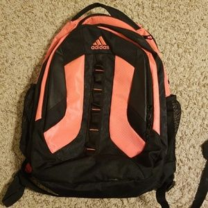 Neon Adidas backpack